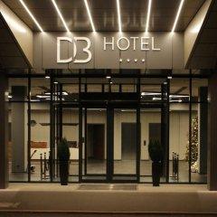 DB Hotel Wrocław Вроцлав вид на фасад