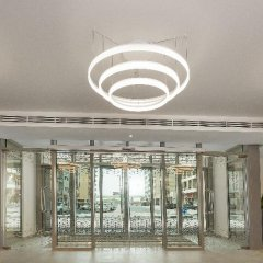 Отель DoubleTree by Hilton Hotel and Residences Dubai Al Barsha ОАЭ, Дубай - 1 отзыв об отеле, цены и фото номеров - забронировать отель DoubleTree by Hilton Hotel and Residences Dubai Al Barsha онлайн фитнесс-зал фото 4
