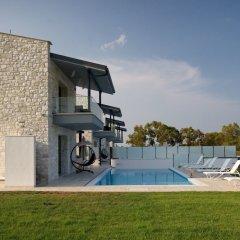 Отель White Pearl Luxury Villas Греция, Пефкохори - отзывы, цены и фото номеров - забронировать отель White Pearl Luxury Villas онлайн бассейн