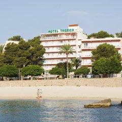 Hotel Tropico Playa пляж