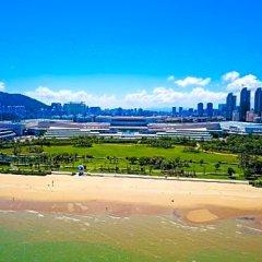 Отель Xiamen International Seaside Hotel Китай, Сямынь - отзывы, цены и фото номеров - забронировать отель Xiamen International Seaside Hotel онлайн пляж