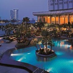 Отель Shangri-la Бангкок бассейн фото 2