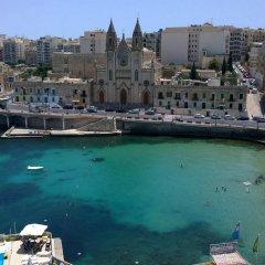Отель St. Julians Bay Hotel Мальта, Баллута-бей - 1 отзыв об отеле, цены и фото номеров - забронировать отель St. Julians Bay Hotel онлайн приотельная территория