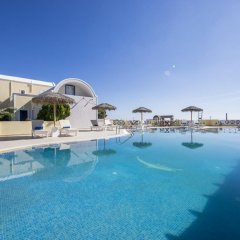 Отель Bella Santorini Studios бассейн фото 2