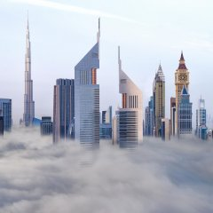 Отель Jumeirah Emirates Towers Дубай пляж