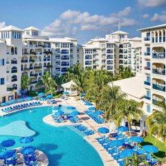 Отель Occidental Costa Cancún All Inclusive Мексика, Канкун - 12 отзывов об отеле, цены и фото номеров - забронировать отель Occidental Costa Cancún All Inclusive онлайн бассейн фото 2