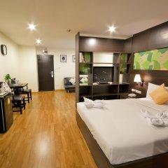 Отель Boss Mansion Бангкок комната для гостей фото 5