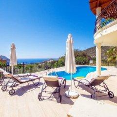 Villa Dermin Турция, Калкан - отзывы, цены и фото номеров - забронировать отель Villa Dermin онлайн бассейн