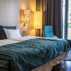 Отель Scandic Berlin Potsdamer Platz 4* Стандартный номер с разными типами кроватей