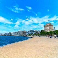 City Hotel Thessaloniki пляж фото 2