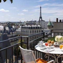 Отель Hôtel San Régis Франция, Париж - 2 отзыва об отеле, цены и фото номеров - забронировать отель Hôtel San Régis онлайн балкон
