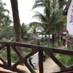 Отель Beachfront Hotel La Palapa - Adults Only Мексика, Остров Ольбокс - отзывы, цены и фото номеров - забронировать отель Beachfront Hotel La Palapa - Adults Only онлайн балкон