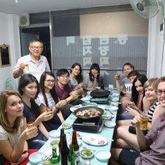 Отель Albergue Guesthouse Korea питание фото 3