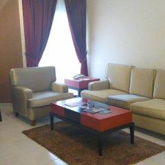 Отель Royal Crown Suites Шарджа комната для гостей