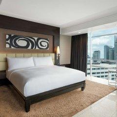Отель DoubleTree by Hilton Bangkok Ploenchit Бангкок комната для гостей фото 3