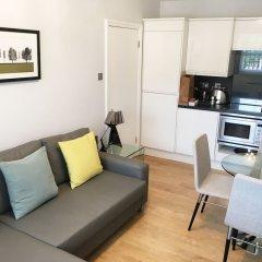 Отель Chiltern Street Serviced Apartments Великобритания, Лондон - отзывы, цены и фото номеров - забронировать отель Chiltern Street Serviced Apartments онлайн комната для гостей фото 5