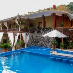 Отель Villas Las Azucenas Мексика, Сиуатанехо - отзывы, цены и фото номеров - забронировать отель Villas Las Azucenas онлайн бассейн фото 3