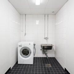 Отель Forenom Aparthotel Helsinki Herttoniemi ванная