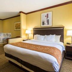 Отель Comfort Suites Galveston США, Галвестон - отзывы, цены и фото номеров - забронировать отель Comfort Suites Galveston онлайн комната для гостей фото 2