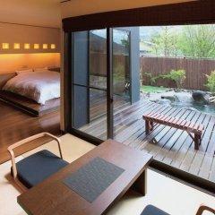 Отель Yufuin Onsen Yufunoi YUHRI Хидзи балкон