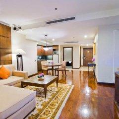 Отель President Park - Ebony Towers - unit 11A Таиланд, Бангкок - отзывы, цены и фото номеров - забронировать отель President Park - Ebony Towers - unit 11A онлайн комната для гостей фото 3