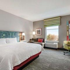 Отель Hampton Inn Brooklyn Park, MN США, Бруклин-Парк - отзывы, цены и фото номеров - забронировать отель Hampton Inn Brooklyn Park, MN онлайн комната для гостей фото 4