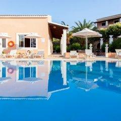 Отель Domenico Hotel Греция, Корфу - отзывы, цены и фото номеров - забронировать отель Domenico Hotel онлайн бассейн фото 3
