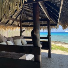 Отель Le Coconut Lodge пляж