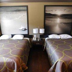 Отель Super 8 by Wyndham Los Angeles США, Лос-Анджелес - отзывы, цены и фото номеров - забронировать отель Super 8 by Wyndham Los Angeles онлайн комната для гостей фото 4