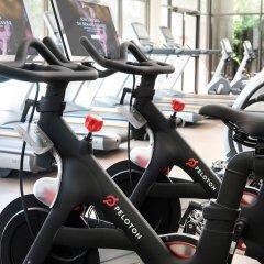 Отель Bethesda Marriott фитнесс-зал фото 4