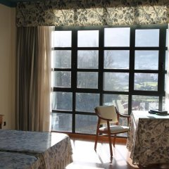 Отель Conjunto Hotelero La Pasera Кангас-де-Онис комната для гостей фото 3