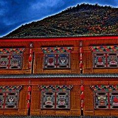 Jiuzhaigou Tang Zhong Hotel гостиничный бар