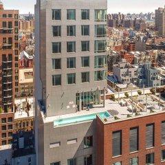 Отель Indigo Lower East Side New York, an IHG Hotel США, Нью-Йорк - отзывы, цены и фото номеров - забронировать отель Indigo Lower East Side New York, an IHG Hotel онлайн балкон