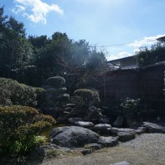 Отель Ryokan Nagomitsuki Беппу приотельная территория