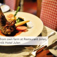 Отель Romantik Hotel Julen Superior Швейцария, Церматт - отзывы, цены и фото номеров - забронировать отель Romantik Hotel Julen Superior онлайн питание фото 2