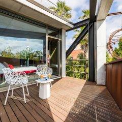 Отель Villa Borobil Heated Pool and Garden Испания, Сан-Себастьян - отзывы, цены и фото номеров - забронировать отель Villa Borobil Heated Pool and Garden онлайн балкон