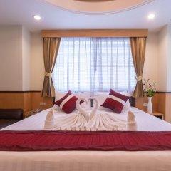 Отель Pratunam Pavilion Бангкок комната для гостей