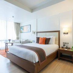 Отель Oakwood Residence Sukhumvit 24 Бангкок комната для гостей фото 4