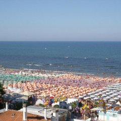 Hotel Villa Linda Риччоне пляж фото 2