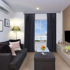 Отель The Grass Serviced Suites by At Mind комната для гостей фото 4