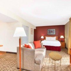 Отель Hawthorn Suites By Wyndham Airport Columbus East Колумбус комната для гостей фото 2