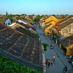Thanh Binh 1 City Hotel Хойан приотельная территория