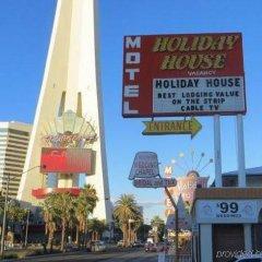 Отель Holiday Motel США, Лас-Вегас - отзывы, цены и фото номеров - забронировать отель Holiday Motel онлайн фото 2