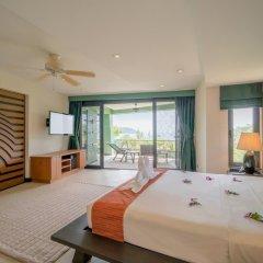 Апартаменты Aspasia Kata Luxury Resort Apartment пляж Ката Яй комната для гостей фото 2