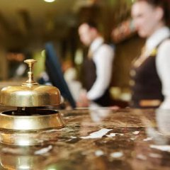 Отель Hostal Pacios гостиничный бар
