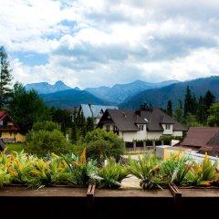 Отель InspiroApart Giewont Lux - Sauna i Basen Косцелиско балкон