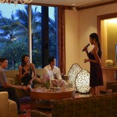 Отель Shangri-La's Mactan Resort & Spa сауна