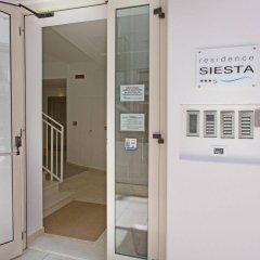 Отель Residence Siesta Италия, Римини - отзывы, цены и фото номеров - забронировать отель Residence Siesta онлайн ванная
