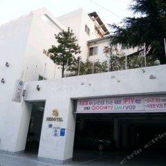 Отель Daegu Goodstay Herotel Южная Корея, Тэгу - отзывы, цены и фото номеров - забронировать отель Daegu Goodstay Herotel онлайн парковка