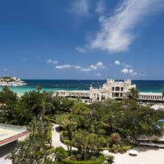 Отель Mondello Palace Hotel Италия, Палермо - отзывы, цены и фото номеров - забронировать отель Mondello Palace Hotel онлайн пляж